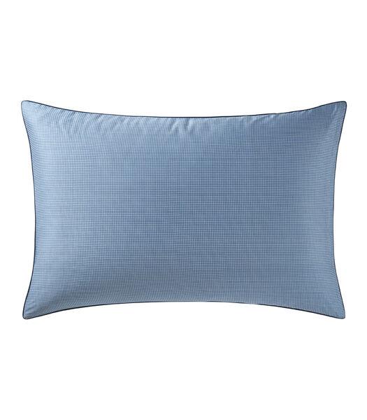 KMOCHECK - Taie d'oreiller Satin de coton 120 fils