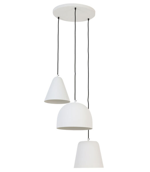 vtwonen - Lampe suspendue Sphere - blanc mat - 3L