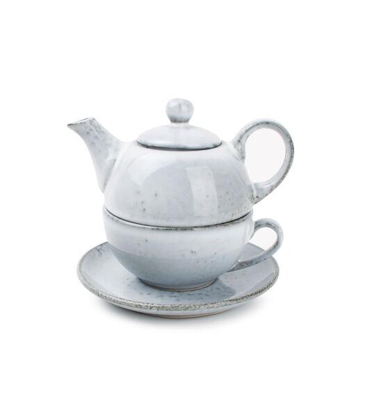 Tea for one set bleu Artisan
