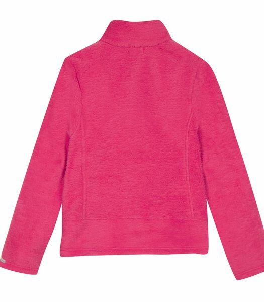 Zachte gebreide sweatshirt met rits