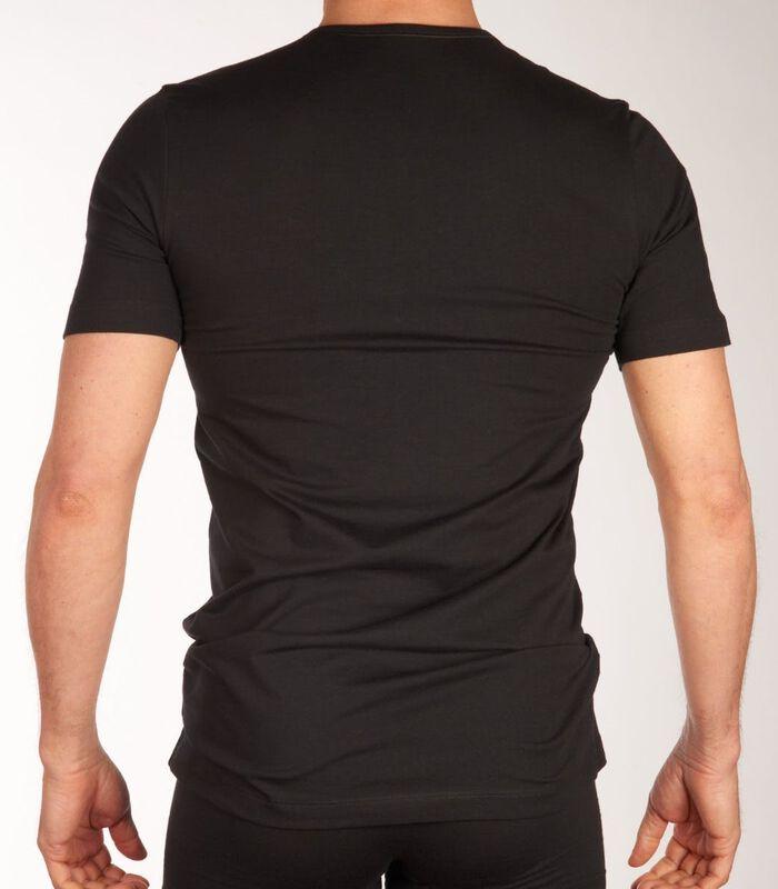 T-shirt ronde hals 2 pack shirt 95/5 h-l image number 2