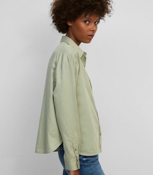Boyfriend blouse van organic cotton