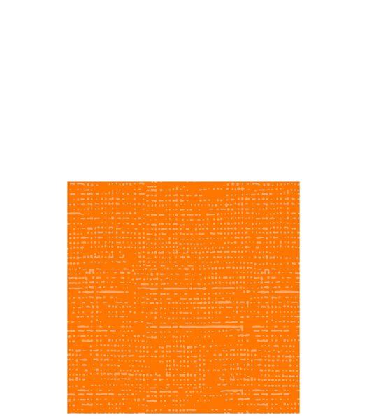 Pak 16 Servet Textielpapier Oranje Small