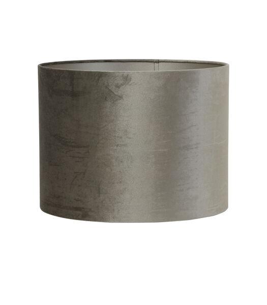 Lampenkap cilinder ZINC - 40-40-30cm - taupe