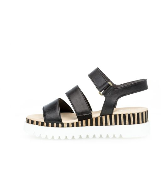 Leren sandalen