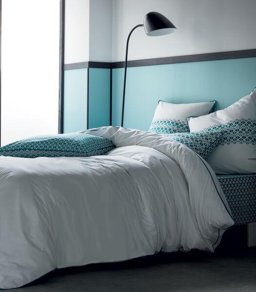 Parure de lit mix & match en percale de coton