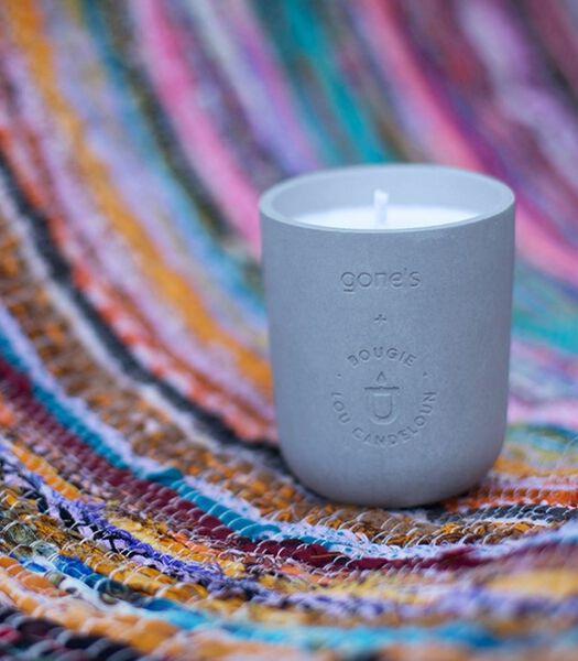 Bougie parfumée béton et cire de soja, LA HABANA