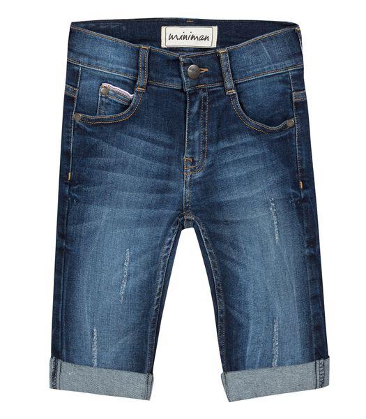 Bermuda 5 poches en jean