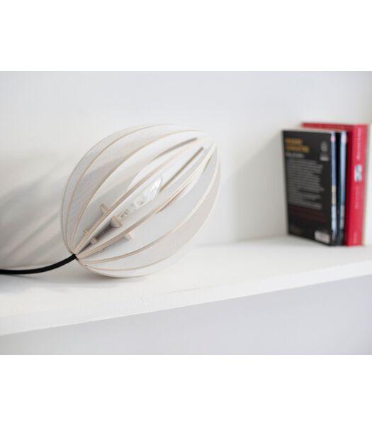 Design-tafellamp in hout, FEVE