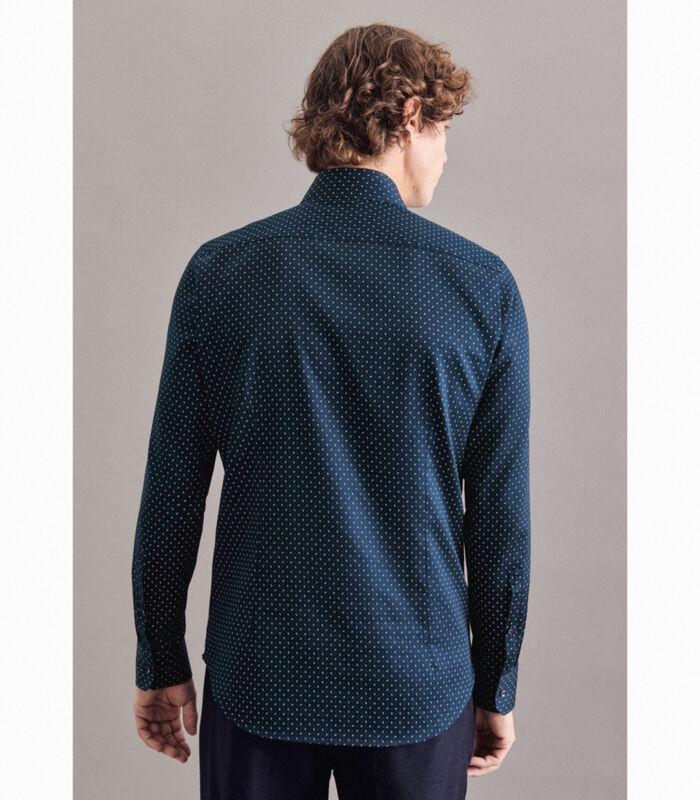 Overhemd Slim Fit Lange mouwen Print image number 1