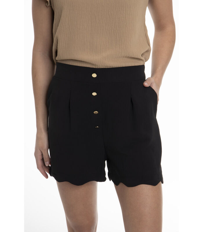 CHRISTINE-Korte broek  hoge taille image number 0