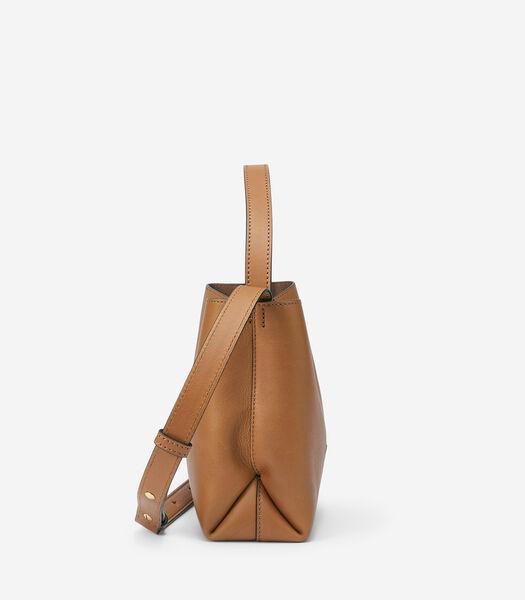 Crossbody bag van zacht kalfsleer