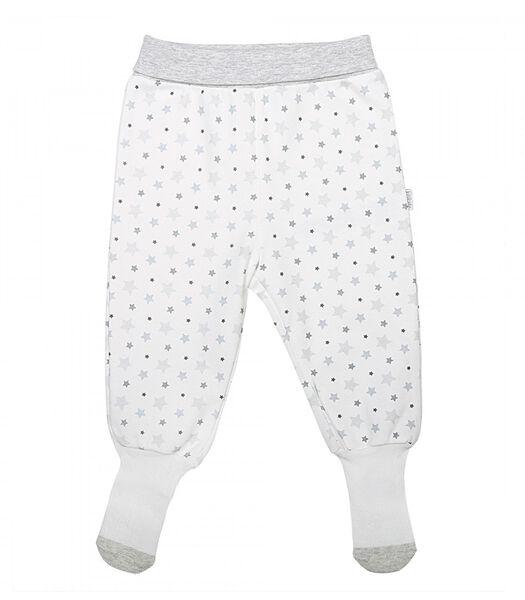 Biologisch katoenen baby broekje, STARS