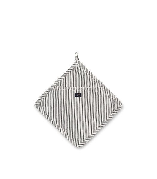 Icons Cotton Herringbone Striped Potholder