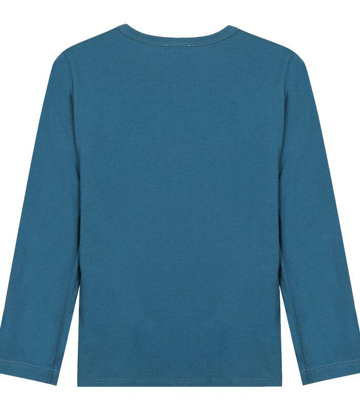 Geprinte T-shirt met lange mouwen image number 1