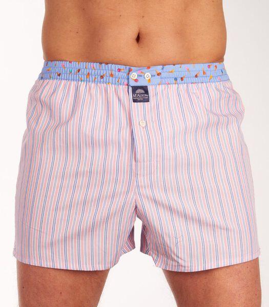 Boxershort striped h-l