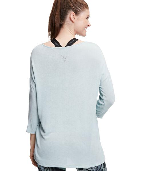 Fijngebreide trui met oversized mouwen