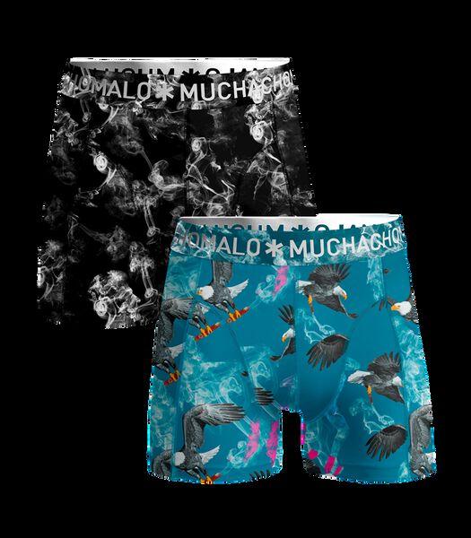 Men 2-pack shorts It Tastes Good Print/Print L