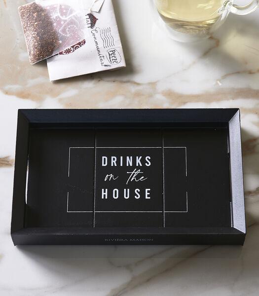 Mini plateau 19x12 pour les boissons de la maison