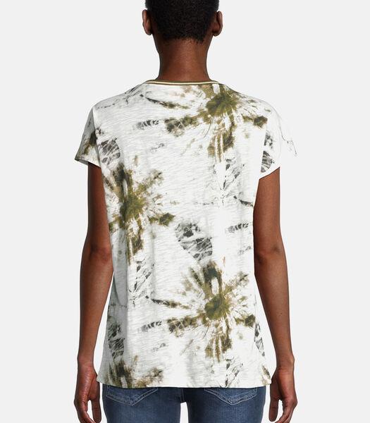 Shirt met korte mouwen met ronde hals