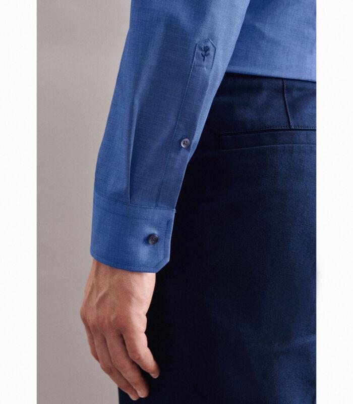 Overhemd Slim Fit Lange mouwen Uni image number 3