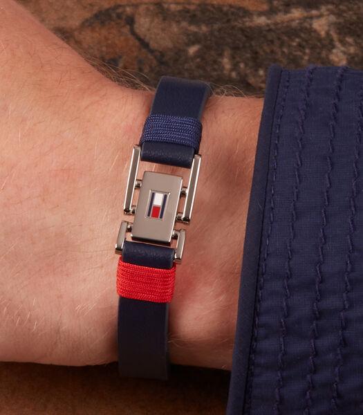Denim Armband blauw TJ2790226S