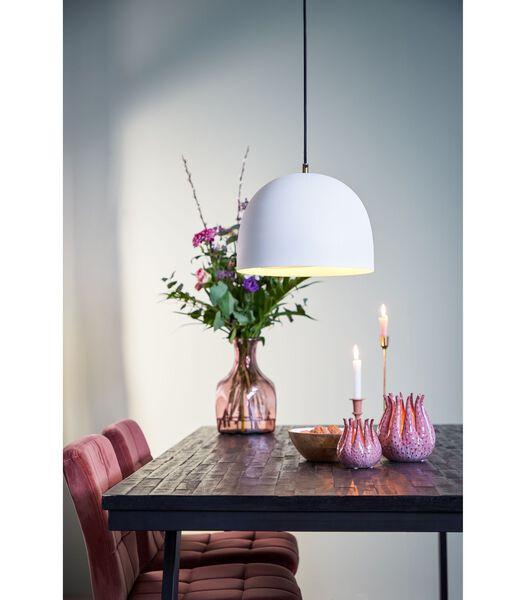 vtwonen - Lampe suspendue Sphere - Blanc mat - Ø28x33 cm