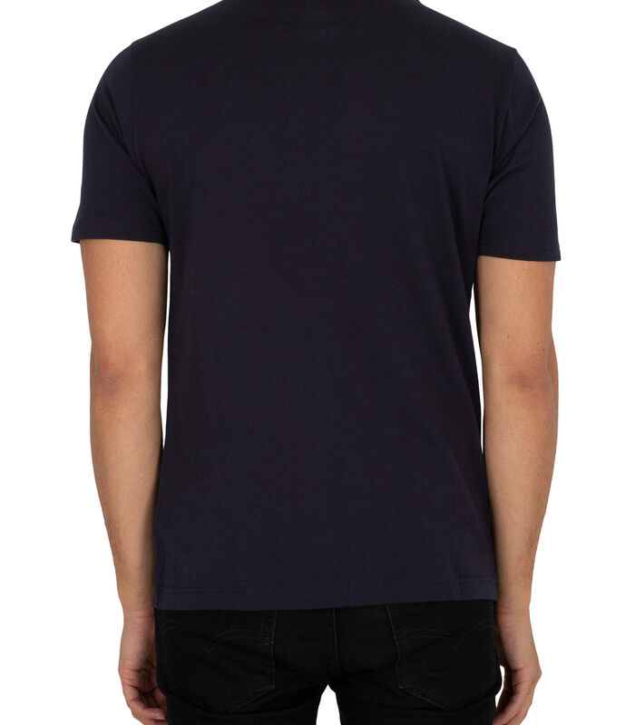 T-shirt à logo empilé Essentials image number 2