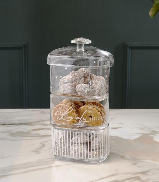 Lovely Ingredients Triple Jar