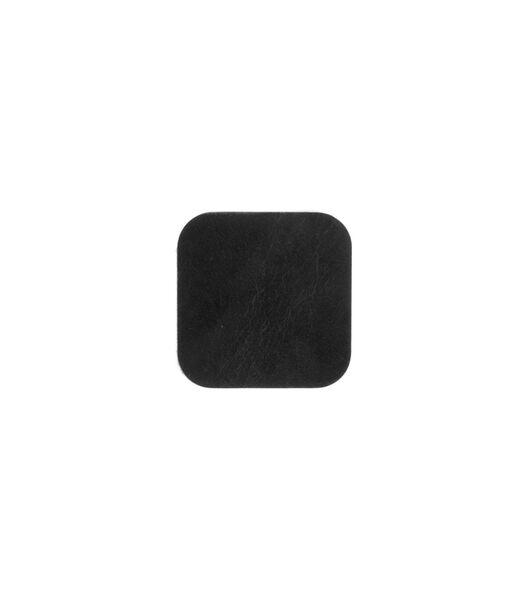 ELLIS sous-verre carré noir