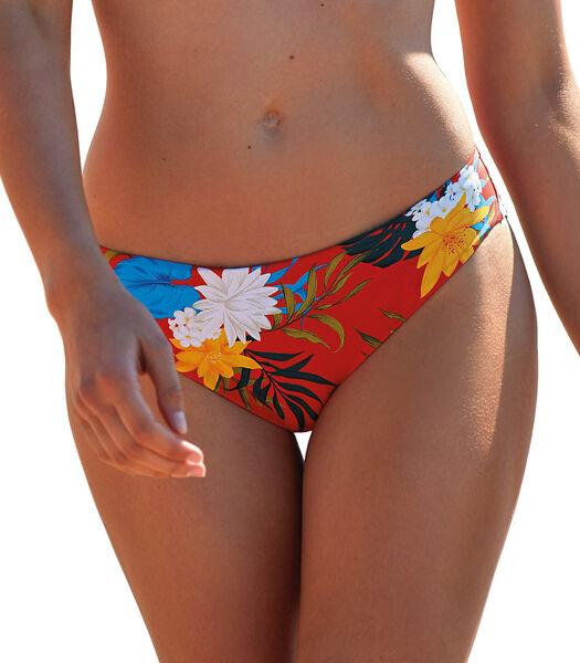 Bikinibroekje Flores rood
