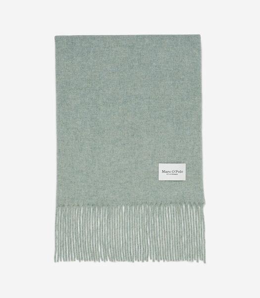 Wollen sjaal van zachte wol