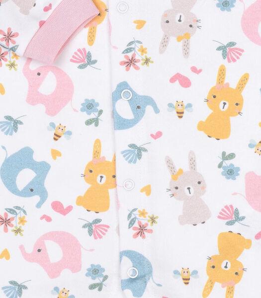 Pyjama bébé en coton bio, MILA