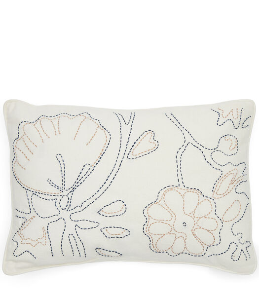 Rhythm Embroidery Pillow Cover