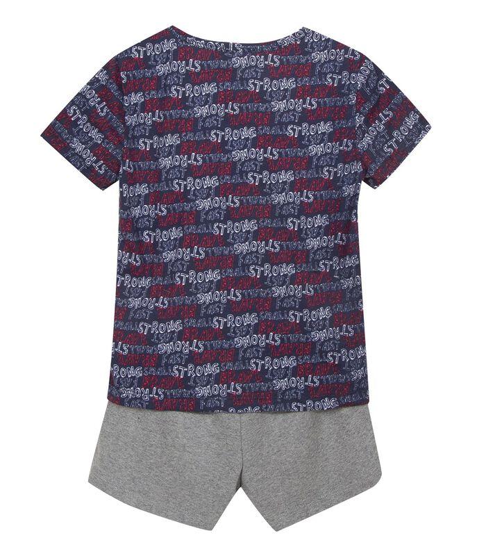 Pyjama garçon maille imprimée image number 1