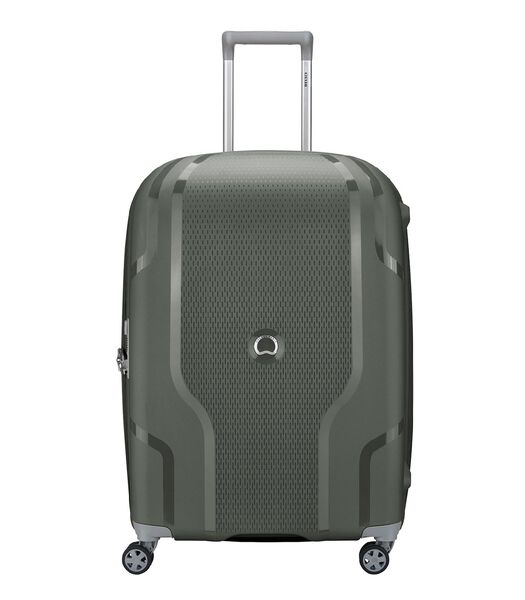 Clavel 4 Wheel Trolley 70 Expandable army green