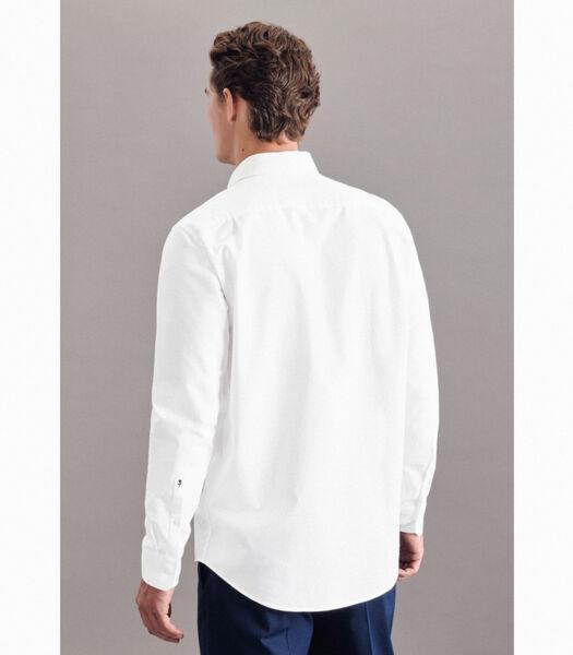 Oxfordhemd Regular Fit Lange mouwen Uni