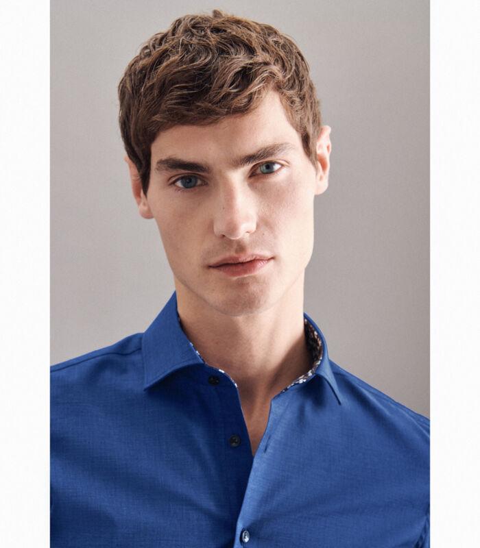 Overhemd Slim Fit Lange mouwen Uni image number 2