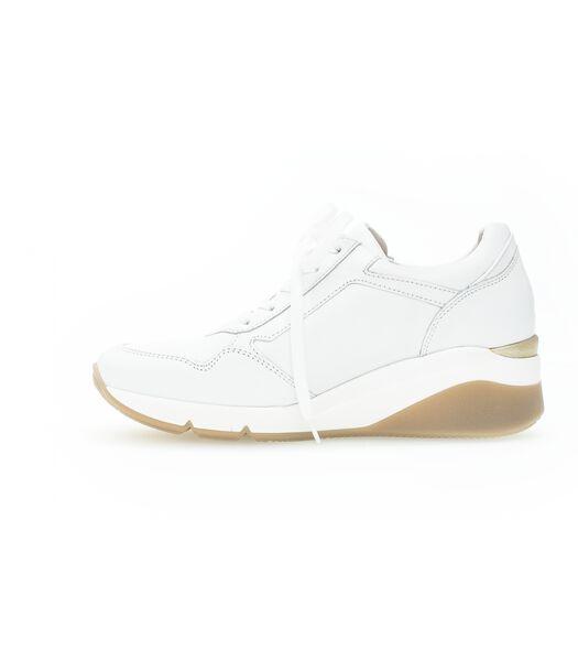 Sneakers leer