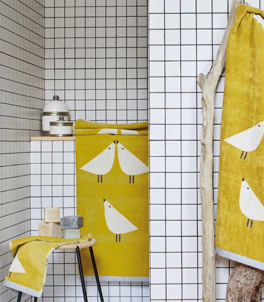 LINTU Tilleul - Tapis de bain coton
