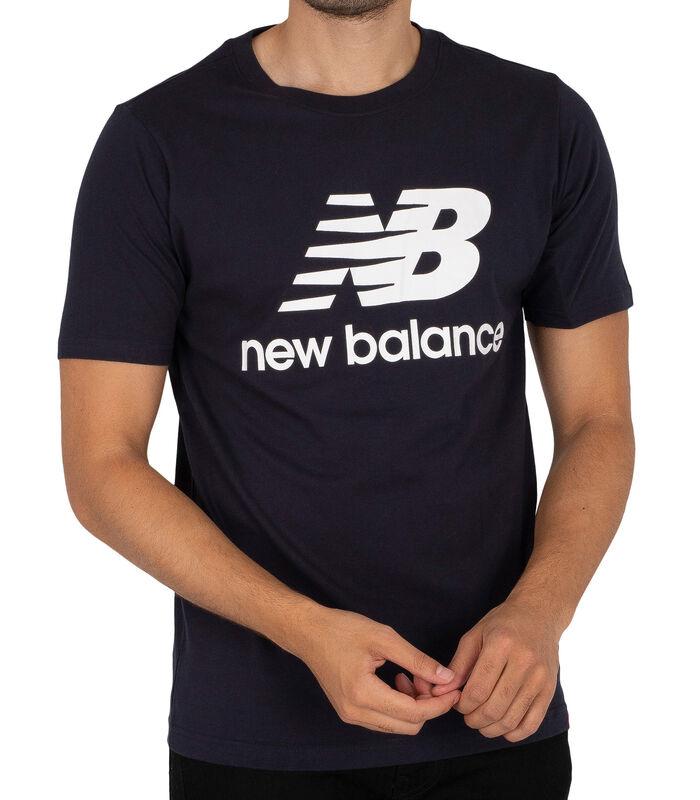 T-shirt à logo empilé Essentials image number 0