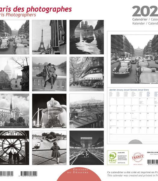 Kalender 30x30 cm Paris des Photographes,