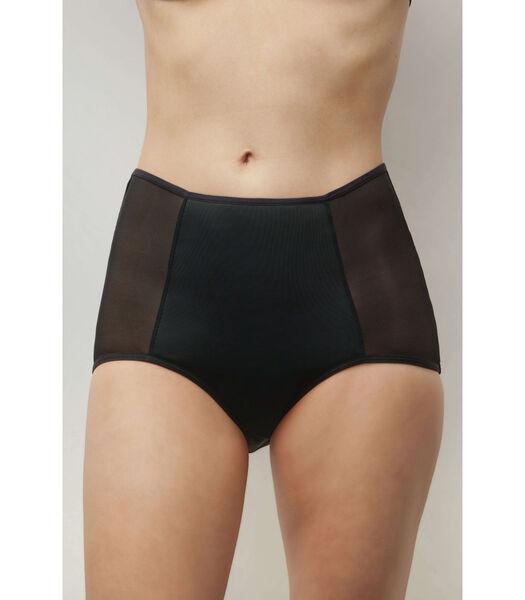 Hoge menstruatieonderbroek BIEN ETRE zwart