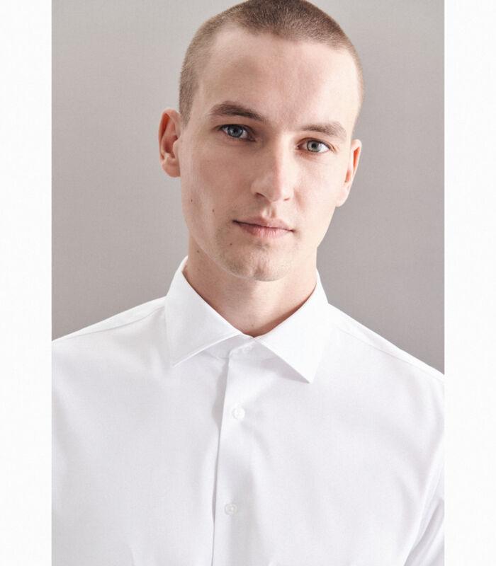 Performance hemd Slim Fit Lange mouwen Uni image number 2