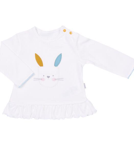 Pyjama bébé 2 pièces en coton bio, LAPINOU
