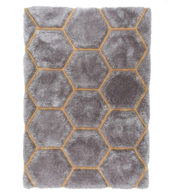 Modern tapijt in reliëf BEEHIVE image number 0