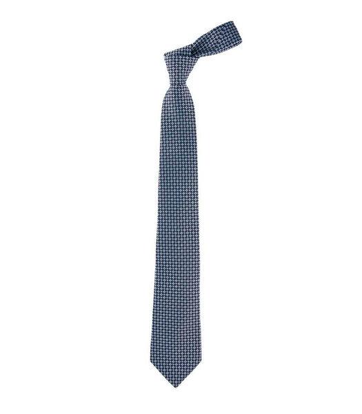 Cravate à micro-motifs en soie