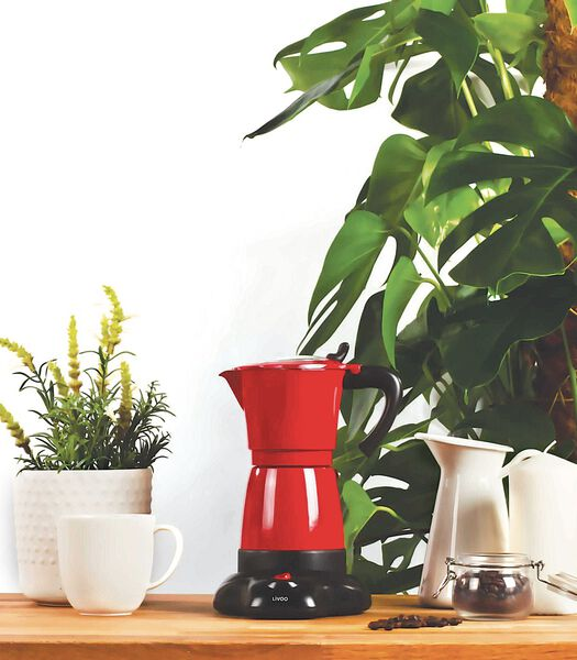 Elektrische Italiaanse koffiepot