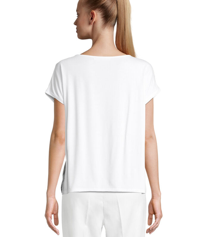 Shirt met korte mouwen met print image number 1