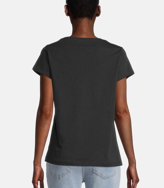 Shirt met print met ronde hals